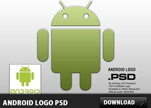 Minimalist Android Logo