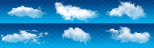 Fluffy Clouds Design