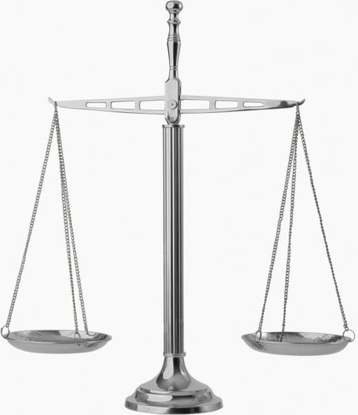Shiny Balance Scale