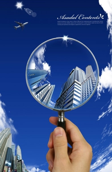Magnifying Glass Business