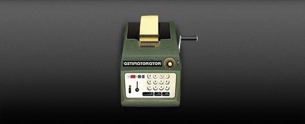 Old Calculator Machine