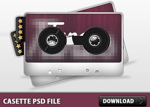 Stylish Cassette Tape
