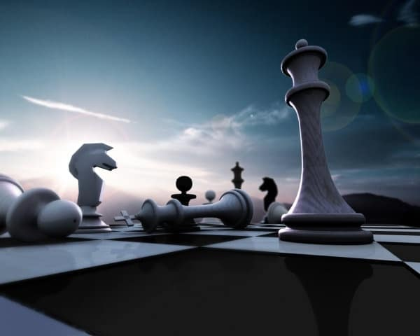 Chess Match Perspective