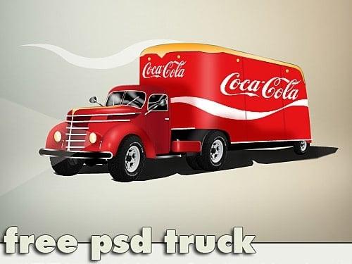 Coca Cola Trailer Truck