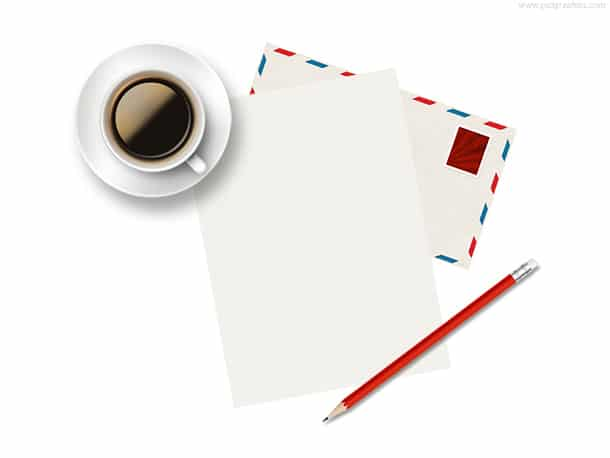 Letter Writing Plus Coffee
