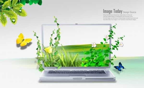 Creative Nature Laptop