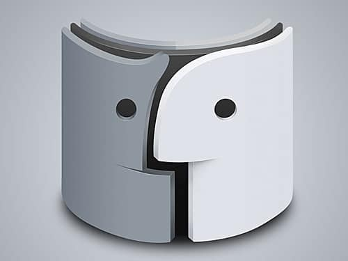 3D Mac Finder Logo