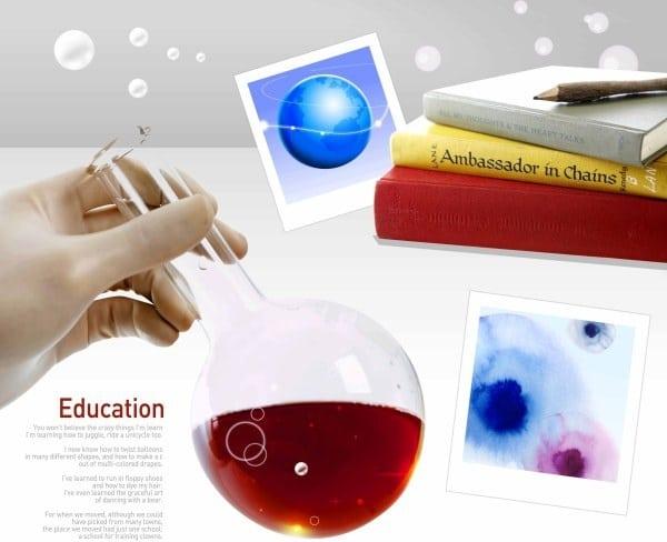 Chemistry Education Theme