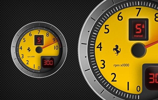 Race Car Tachometer