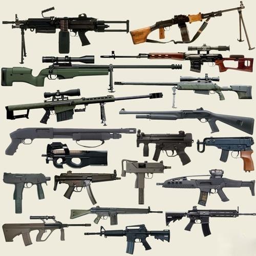 High Powered Guns