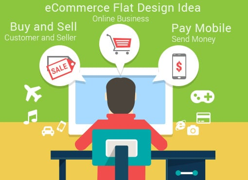 eCommerce Vector Plans