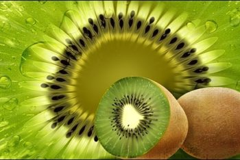 Free Kiwi Fruit Concept Design Mockup in PSD