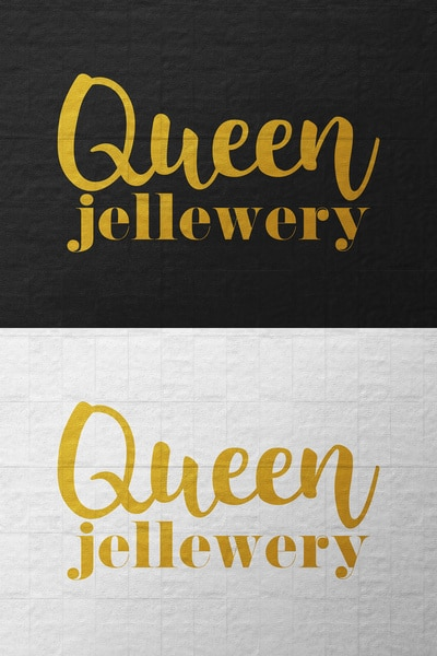 Gold Jewelry Text Effect