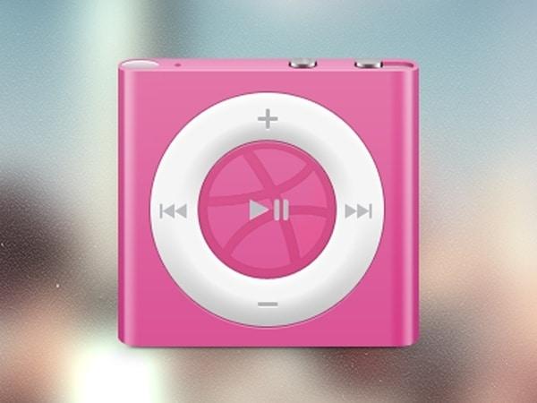 Cute iPod Shuffle Model
