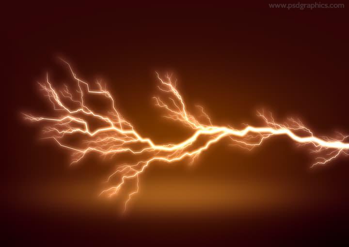 Fierce Lightning Effect
