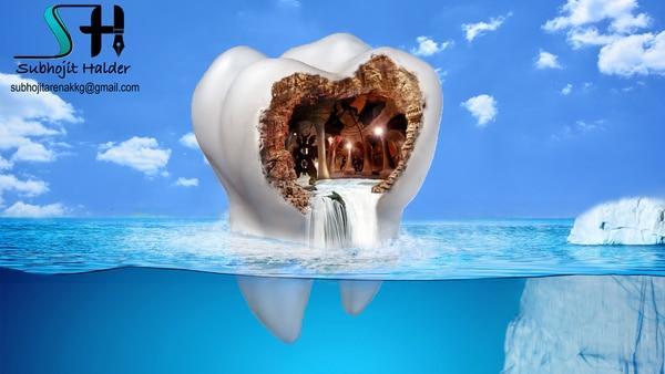 Tooth Cavity Awareness Painting