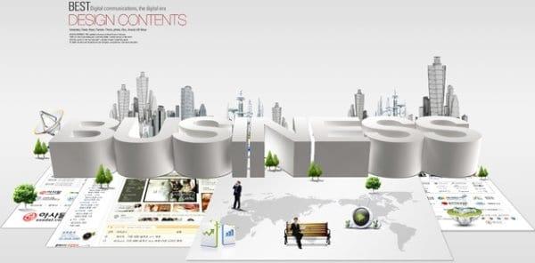 Modern Business City