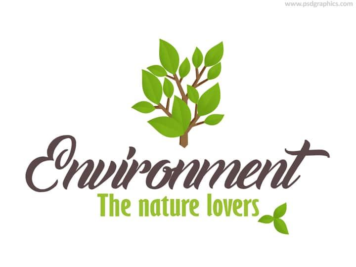 Nature Logo Scene