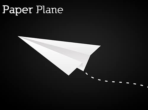 Simple Paper Plane
