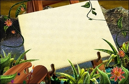 Nature Painting Scene