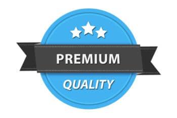 Free Premium Quality Badge Template Mockup