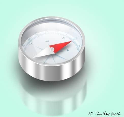 Shiny Simple Compass