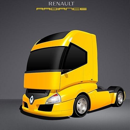 Advanced Futuristic Truck