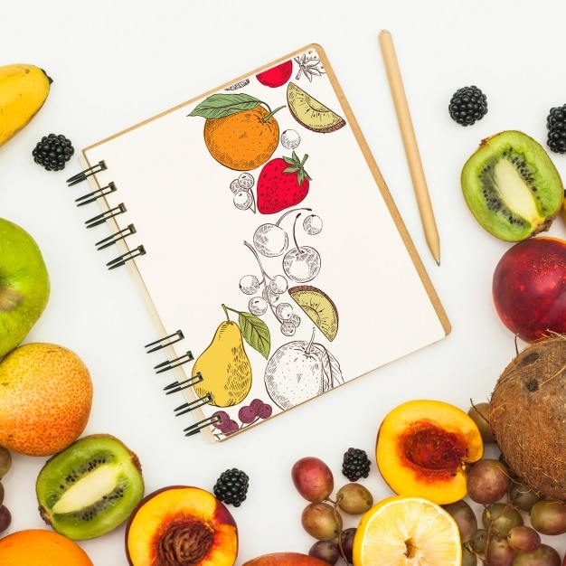 Fruity Spiral Notebook