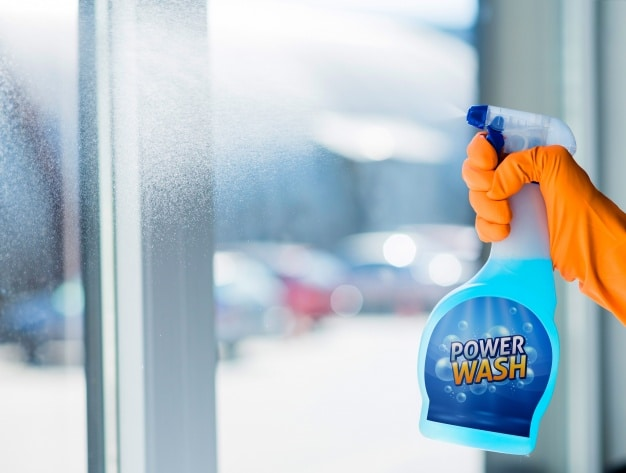 Window Cleaning Plus Spray Bottle