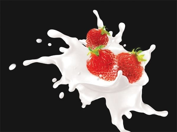 Milk Plus Strawberry Blend