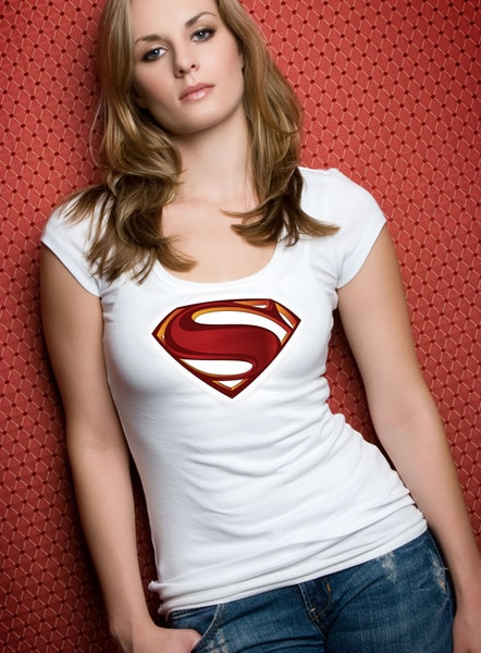 Superman Shirt Plus Girl