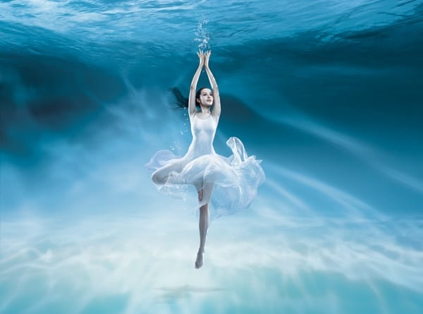 Underwater Ballet Plus Girl