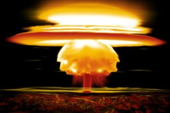 Free Nuclear Bomb Explosion Mockup in PSD