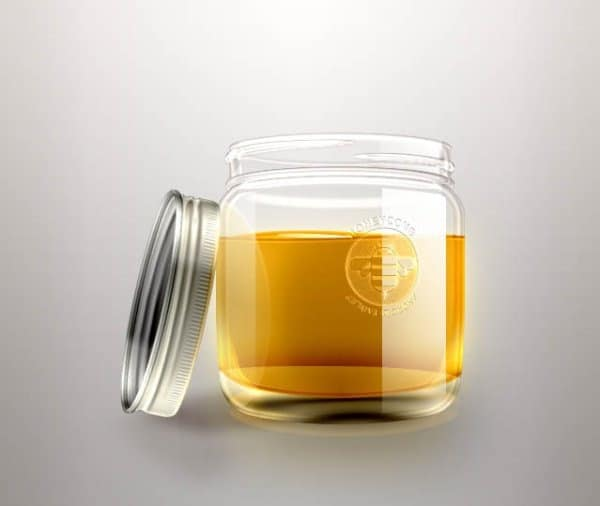 Simple Honey Jar