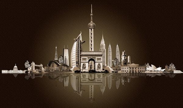 Futuristic Urban Architecture