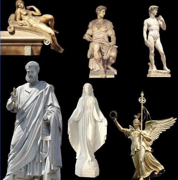 Beautiful Figure Sculptures