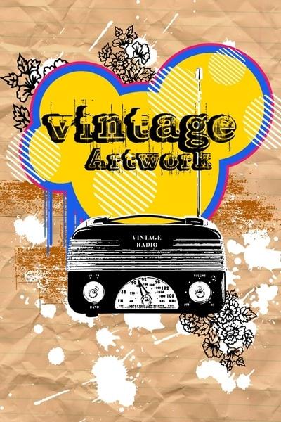 Vintage Radio Artwork
