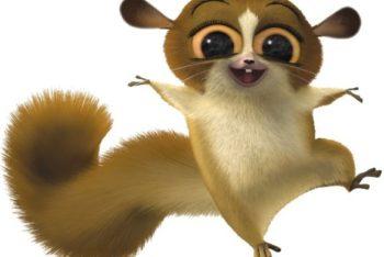 Free Madagascar Lemur Character Mockup in PSD