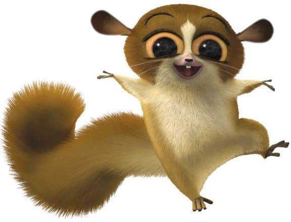 Madagascar Lemur Character