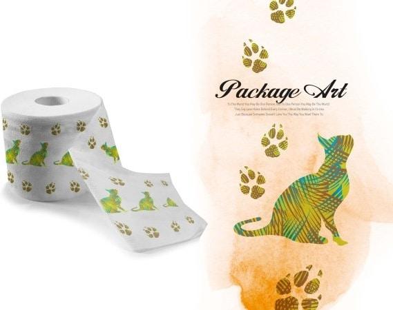 Toilet Paper Pattern Art