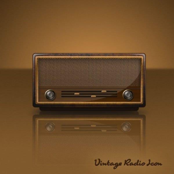 Obsolete Retro Radio