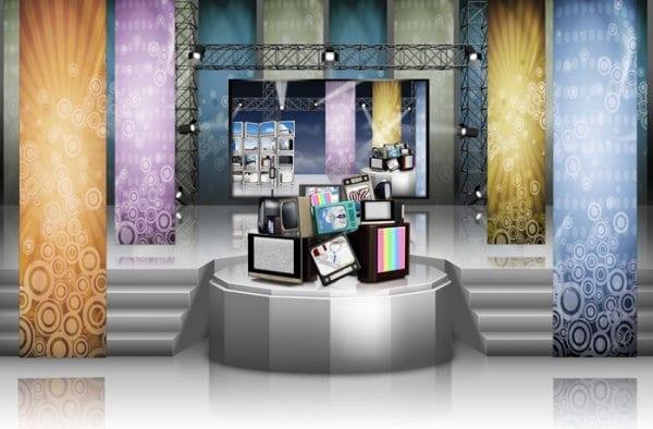 Electronics Presentation Plus Stage
