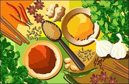 Spice Plus Seasoning Illustration