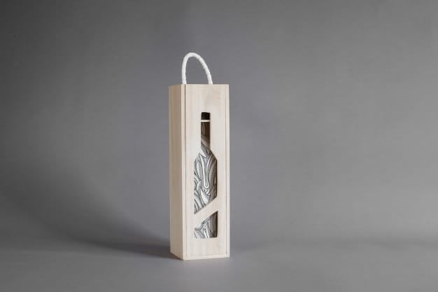 Elegant Wine Wooden Box