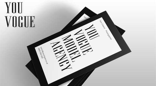 Vogue Business Card