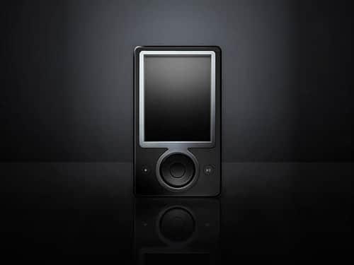 Microsoft Zune Device