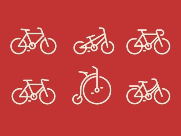 Bicycle Logo Variety