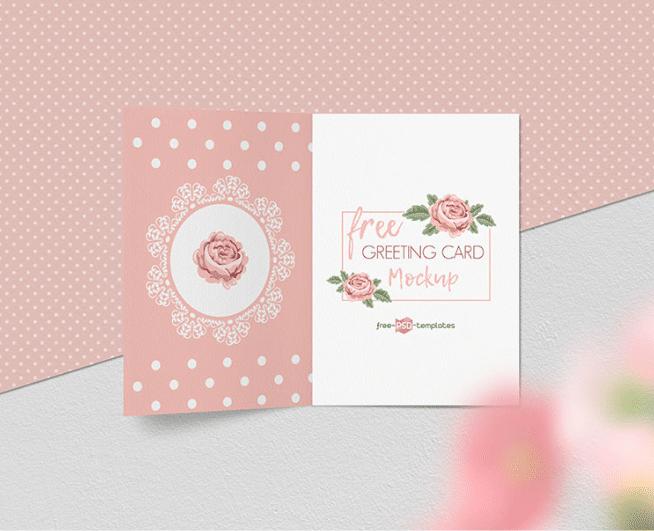Free Greeting Card Mockup Set Download In Psd Format Designhooks