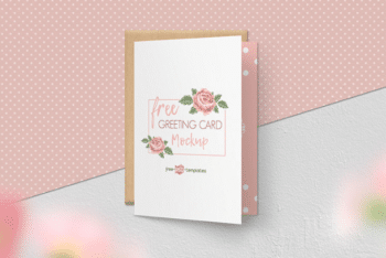 Free Greeting Card Mockup Set – Available in High Resolution