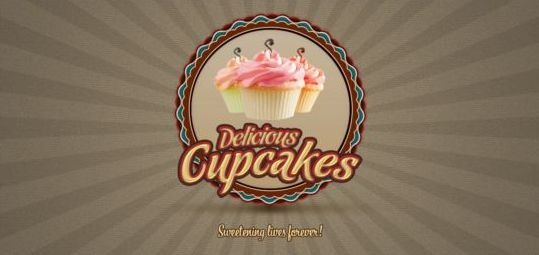 Fancy Cupcake Logo